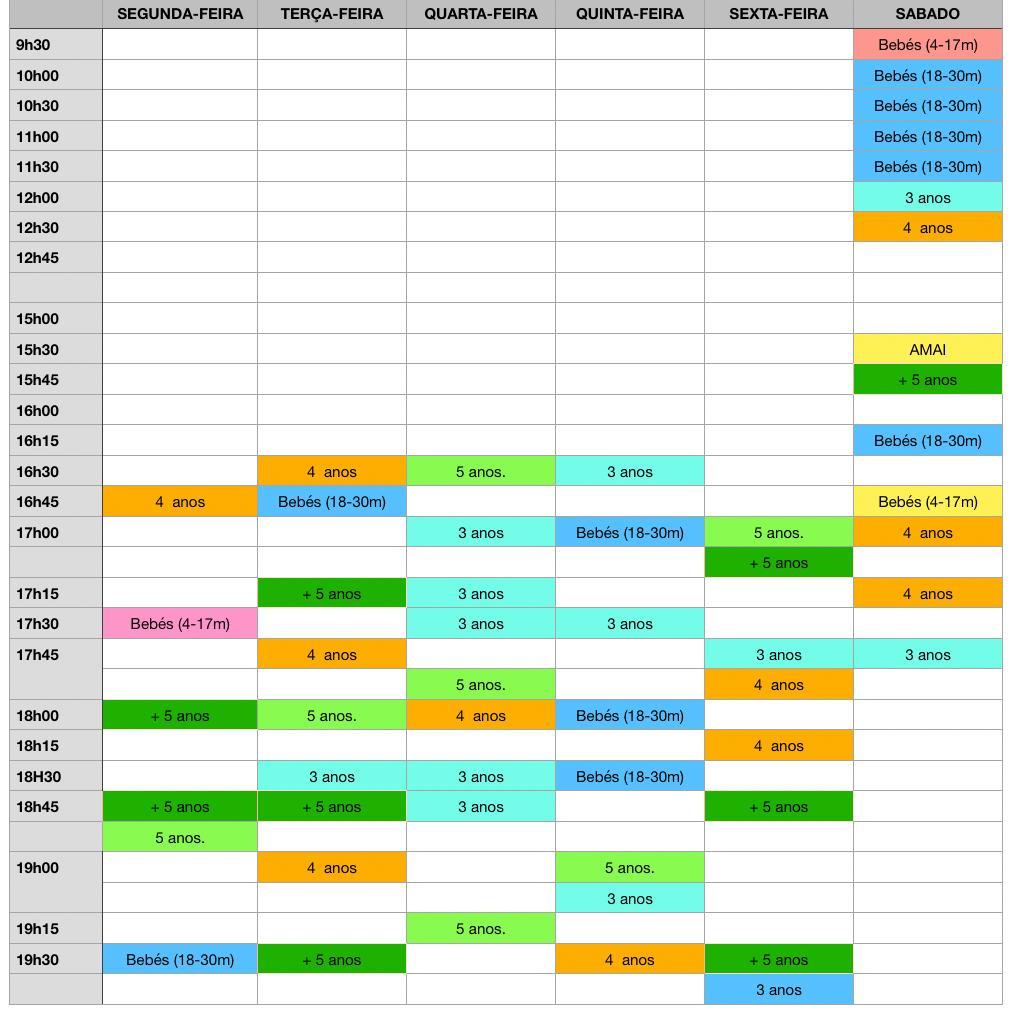 tubaroes horario2021 2022 guimaraes